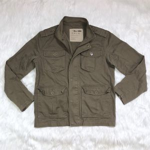 UO All-Sons Brown Utility Jacket!
